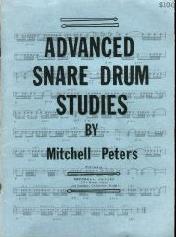 Advanced Snare Drum Studies  Drum Book