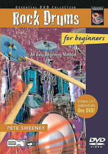 Rock Drums for Beginners, Volumes 1 & 2 1