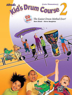 Alfred's Kid's Drum Course - Book 2 (Book & CD) 1