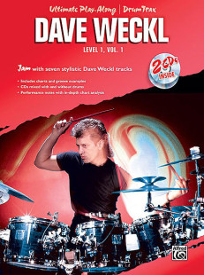 Ultimate Play-Along Drum Trax Dave Weckl, Level 1, Volume 1 1