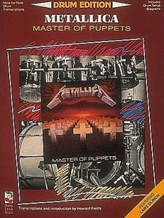Master Of Puppets - Drums 1