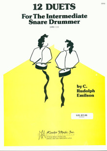 12 Duets For The Intermediate Snare Drummers 1