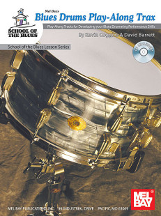 Blues Drums Play-Along Trax Book/CD Set 1