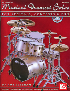 Musical Drumset Solos for Recitals, Contests and Fun Book/CD Set 1