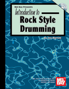 Introduction to Rock Style Drumming Book/CD Set 1
