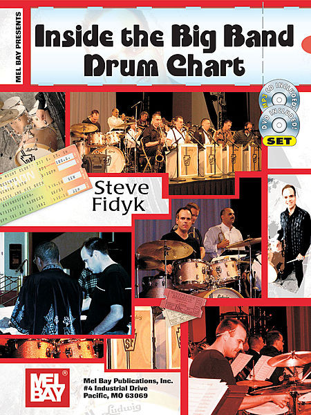 Inside The Big Band Drum Chart Book/CD/DVD Set 1