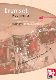 Rudiments on the Drumset Book/CD Set 1