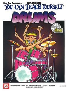 You Can Teach Yourself Drums Book/CD Set 1