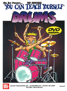 You Can Teach Yourself Drums Book/DVD Set 1