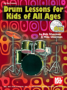 Drum Lessons for Kids of All Ages Book/CD Set 1