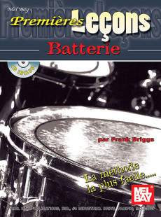 First Lessons Drumset: French Edition Book/CD Set 1