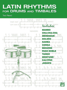 Latin Rhythms for Drums and Timbales 1