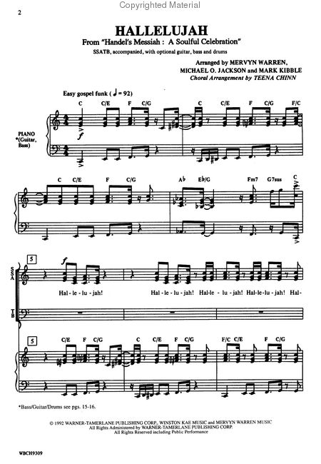 hallelujah chorus analysis Video: handel's messiah: history, music & analysis even if you don't know much about classical music, you have probably heard the hallelujah chorus from handel's oratorio messiah.