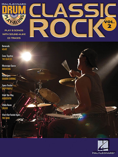 Classic Rock: Drum Play-Along Volume 2 1