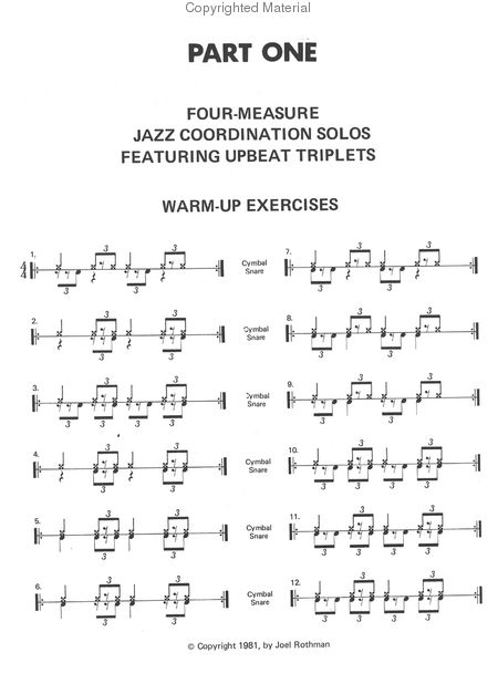 Drum jazz drum tabs : Easy To Learn Drum Sheet Music - drum sheet music for beginners ...